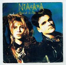 """NIAGARA Vinyle 45 Tours 7"""" QUAND LA VILLE DORT - POLYDOR 885726  Frais Reduit"""