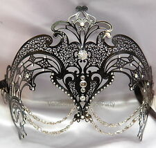 Metal Exotic High Fashion Prom Carnival Costume Masquerade Ball Halloween Mask
