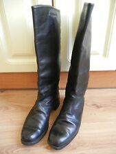 High Boots Soviet Army Officer Leather Size 42 SOVIET made in USSR