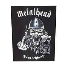 METALHEAD Backpatch 'Deutschland' Rückenaufnäher Motörhead ♫ Rock And Roll ♫