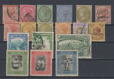 Great Britain former colony Jamaica Queen Victoria,King George V 18 stamps MH,US