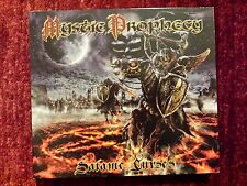 MYSTIC PROPHECY - SATANIC CURSES. EDITION 2 CD DIGIPACK