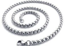 "Stainless Steel Men's/Women's Necklace Unique Chain 24""Link Vogue Jewerly"