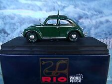 1/43 Rio (Italy)   VW beetle Police German-Swiss  #SL 056