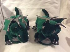 Buy Animal Feet.Com Green/Silver Dragon Adult Size Large (11 Inches)
