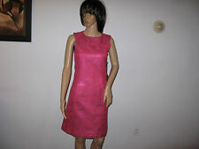 JO NO FUI GLOSSY CYCLAMEN DRESS SIZE 42/8 MADE IN ITALY $ 780.00