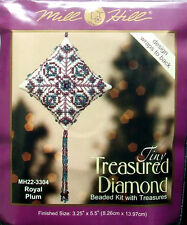 Mill Hill Cross Stitch Bead Kit Christmas Diamond 'Royal Plum' 22-3304