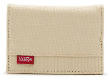 Vans Off The Wall Men's Authentic Straw Bifold Wallet - Cream