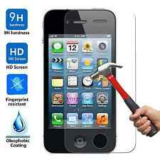 50x Wholesale Lot Tempered Glass Screen Protector for Apple iPhone 4 4S