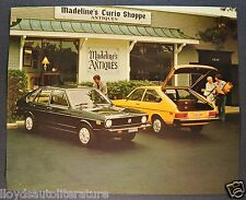 1976 Volkswagen Dasher Sales Brochure Sheet Excellent Original 76 VW