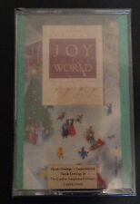 HALLMARK Presents JOY TO THE WORLD Cassette NEW Christmas Music 1988 Free Ship