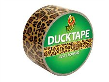 Coloured Duck Duct Gaffer Waterproof Tape JUST LEOPARD Repair Craft DIY Use