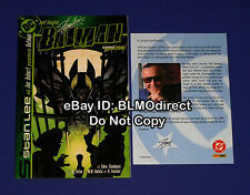 Just Imagine Stan Lee's Batman RRP Exclusive Edition 1 VF/NM With Welcome Letter
