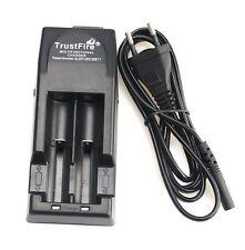TrustFire tr-001 ioni di litio Caricabatteria per batteria 18650/cr123a 3,0 o 3,7 Volt
