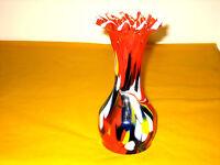 MURANO MULTICOLOURED GLASS VASE     (0.3/288)