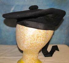 Vtg Prince Charlie Scottish Beret/Cap/Hat Highlander/Kilt/Bagpipe/Piper J00375