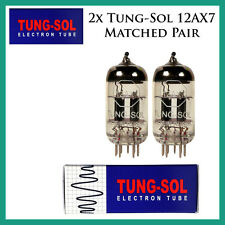 New 2x Tung-Sol 12AX7 / ECC83 | Matched Pair / Duet / Two Tubes | Reissue
