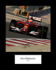 KIMI RAIKKONEN #3 Signed Photo Print 10x8 Mounted Photo Print - FREE DELIVERY