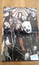SLIPKNOT say cheese Centerfold magazine POSTER  17x11 inches