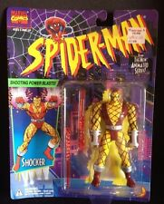 TOY BIZ SPIDER-MAN ANIMATED SERIES SHOCKER ACTION FIGURE VENOM MARVEL S-53