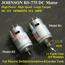 DC12V 18500RPM High Speed Power JOHNSON RS-775 DC Motor DIY Electric Drill Tools