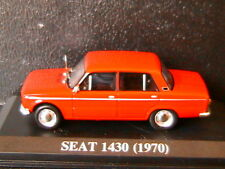 SEAT 1430 1970 ROUGE IXO 1/43 ALTAYA ROSSO RED ROT DIE CAST MODEL