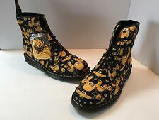 $140 New Doc Martens Adventure Time Castle Ankle Boots Jack Canvas Men's 11M