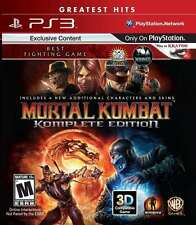 Mortal Kombat Komplete Edition Sony Playstation 3 PS3 Game BRAND NEW SEALED