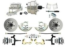 "1964-1972 GM A, F, X Body 2"" Drop Disc Brake Conversion Kit With 8"" Dual Chrome"