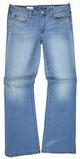 GAP 1969 LONG & LEAN Jeans Womens Size 30L Lunda Wash ~ SPR '14 Excellent Cond.