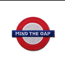 Mind The Gap Iron Sew On Patch New Look On Ripped Jeans /jackets Etc Trending