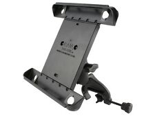 Airplane Rail Yoke Clamp Mount w/ Clamping Cradle for Apple iPad 1 2 3 & 4