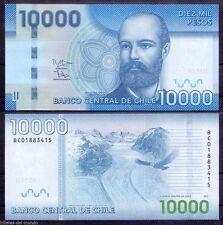Chile 10000 10,000 Pesos, 2013, P-164, UNC