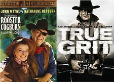 True Grit & Rooster Coburn  (2 DVD SET, WS) John Wayne NEW *FREE SHIPPING*