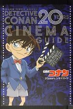 JAPAN Case Closed / Detective Conan 20 Years Cinema Guide (Book)