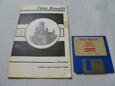AMIGA COMMODORE COMPUTER PC GAME TIME BANDIT W MANUAL 1988 VINTAGE MICRODEAL
