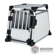 Trixie 39341 Transportbox aus Aluminium, 55 × 62 × 78 cm