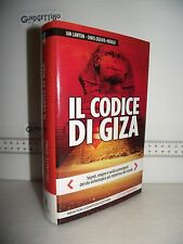 LIBRO Ian Lawton/Cris Ogilvie-Herald IL CODICE DI GIZA segreti enigmi 1^ed.2015