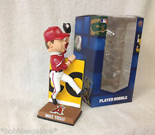 ONLY 360 Produced ~ Mike Trout  RED JERSEY JUMPING WALL CATCH Angels Bobblehead