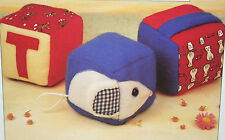Baby's Activity Building Blocks Toy Sewing Pattern