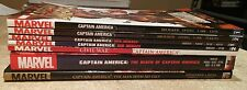 Captain America TPB Hardcover HC OMNIBUS LOT Civil War, Winter Solider, Death of