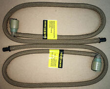 USMC SOURCE HYDRATION REPLACEMENT HOSE TUBE W/ BITE VALVE COYOTE LOT OF TWO NIB