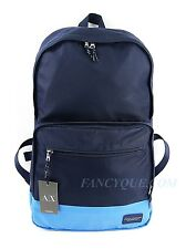 ARMANI EXCHANGE BAG BACKPACK NAVY BLUE LAPTOP SLEEVE NEW LIGHT WEIGHT