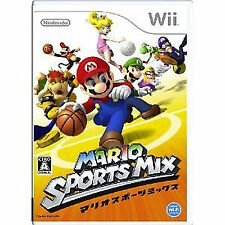 MARIO SPORTS MIX  Nintendo Wii Import Japan