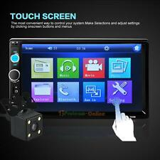 "7"" 2 Din In Dash Stereo Car MP5 Player Bluetooth Touchscreen Radio FM+Camera UK"