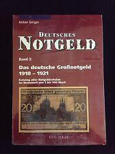 Deutsches Notgeld, Das deutsche Großnotgeld 1918-1921,  Band 3, Anton Geiger
