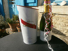French champagne bucket, GH Mumm, wine cooler, flower vase,bar, restaurant cafe