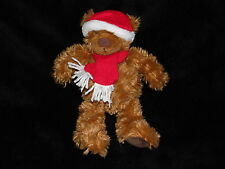 JOHN LEWIS TEDDY BEAR SOFT TOY BROWN CHRISTMAS DOUDOU BABY TED COMFORTER