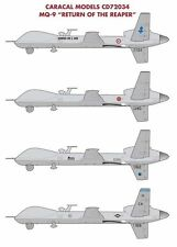 "Caracal Models 1/72 decals for MQ-9 ""Return of the Reaper""  CD72034"