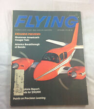 Cougar Twin Precision Learning Sept  1976  Flying Magazine Airplane Aviation